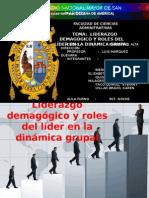 LIDERAZGO DEMAGÓGICO