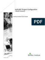 Bentley AutoPlant Project Configuration V8i SS1.pdf