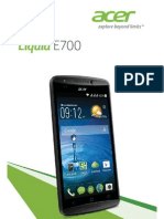 Acer Liquid E700 - Acer Liquid E700 User Guide