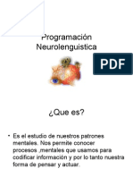 Programación Neurolenguistica