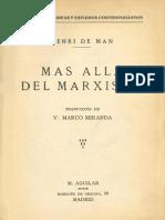 Más Allá Del Marxismo