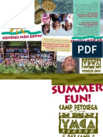 Day Camp Brochure 2010