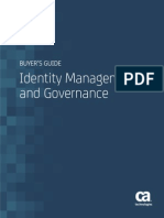 Identity Management Governance Buyers Guide