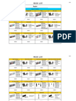 Aspire Price List Dc