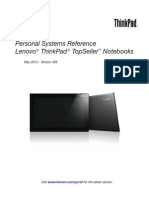 LenovoThinkPadTopSellerTM Notebooks Psref436TS