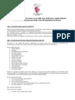Regolamento Tariffe Pmr , Pratolino, Sant' Orsola 21.10.2015