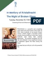 Rosenstrasse - Night of Broken Glass