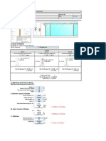 Sample Railing Calculation to Euro Code