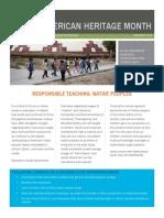 nativeamericanheritagemonth responsibleteachingguide 2015
