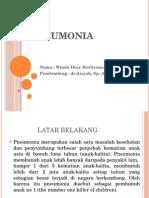 Pneumonia. Ppt