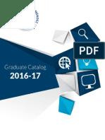 UAGM Graduate Catalog