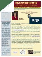 District Newsletter Publication November 2015