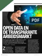Computable Rubriek Data Revival 05 - Open Data en de Transparante Arbeidsmarkt - RJ Veldwijk