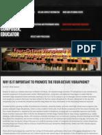 Four-Octave Vibraphone Resources - Dr. Brian S. Graiser