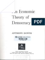 Downs, Anthony_An Economic Theory of Democracy_Cap I e III