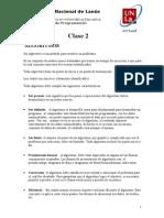 Clase 2 de Tecnicas - ALGORITMOS