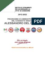 Programma Camaiore 2012 2022