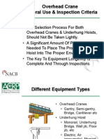 A Review Paper of Safety &Testing of Over Head Crane pdf | Crane