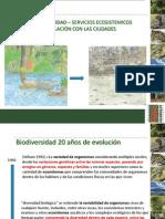 1- Biodiversidad y Sevicios Ecosistemicos Relacionados Con Ciudades