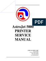AstroJet inkjet  printer manualAj_5000