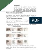 Cuestionario 01 Bioquimica i
