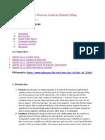 Section Vii Osha Manual for Lifting