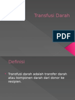 Basic Transfusi Darah