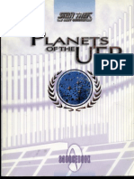 Star Trek TNG RPG - Planets of the UFP (a Guide to Federation Worlds)