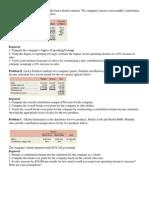 Additonal Cvp Questions (1)