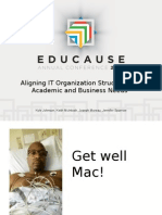 Aligning IT Organization Structures to Academic and Business Needs (288761383)