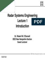 Radar 2009 a _1 Introduction
