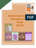 Informacion sobre accidentes y enfermedades de trabajo