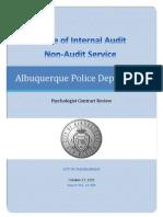 Results of Non-Audit Service 15-309 10272015 cb.pdf