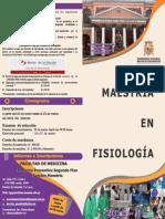 Diptico Maestria Fisiologia 2015