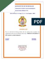 Network Simulator 2 Report File