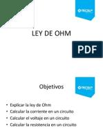 Ley de Ohm y Leyes de Kirchhoff