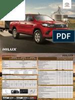 Ficha Técnica Hilux 2.4