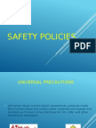 Safety Policies