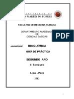 Guia de Practica Bioquimica USMP 2013-II