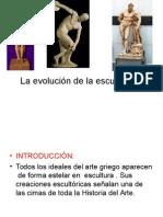 La Evolución de La Escultura
