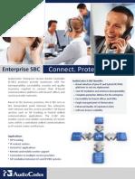 AudioCodes Mediant Enterprise SBC Family Brochure