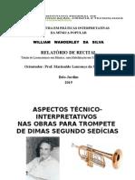 Relatório de Recital Wiliams -Ok