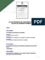 Ley de Propiedad en Condominio Para El Estado de Guerrero