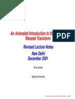animated wavelet transform