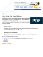 APA - Overview 5th Edition