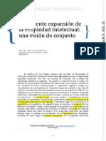 La reciente expansión de la Propiedad intelectual - Zukerfeld.pdf