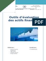 Outils d'Évaluation Des Actifs Financiers