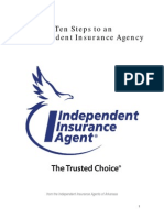 Ten Steps to an Independent Insurance Agency