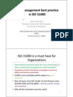 ISO33000 Shortreed