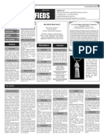 Claremont COURIER Classifieds 11-6-15